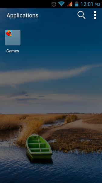 app in folder